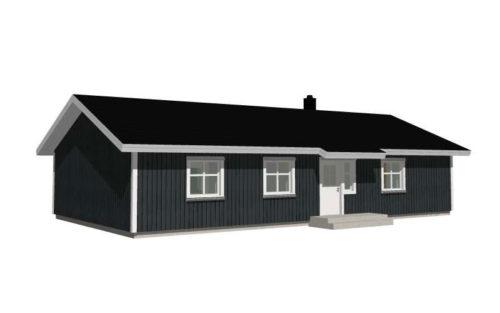 Björkö fasadritning